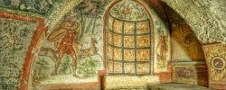 arte antica, antichi romani, sotterranei roma