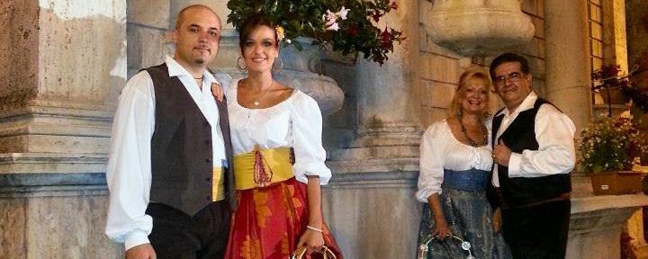 21 Aprile h 19.00 - Amor x Roma: Festa popolare romana