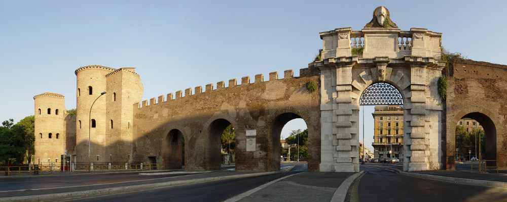PASSEGGIATA SULLE MURA AURELIANE E VISITA AL MUSEO