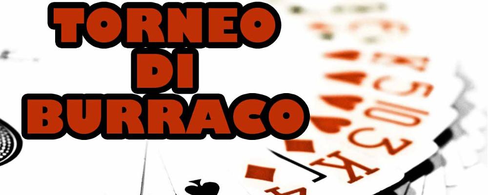 26 Maggio h 20.30 - Torneo di Burraco