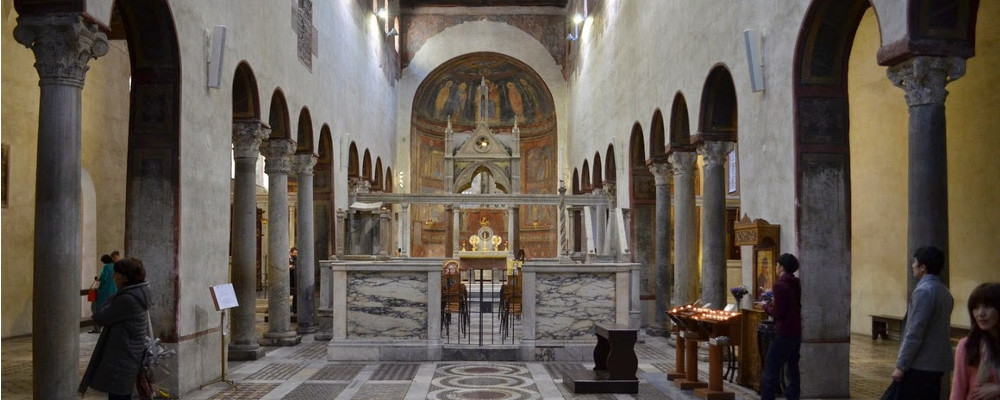 8 Ottobre h 11.30 - Chiesa di S.Maria in Cosmedin