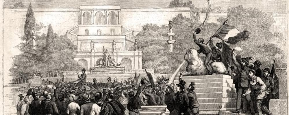 9 febbraio h 19:00 - UN'EPOPEA ITALIANA: LA REPUBBLICA ROMANA DEL 1849