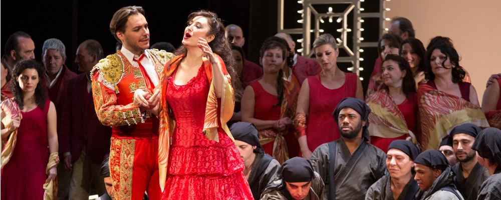12 Gennaio h 19.00: OMAGGIO ALL'OPERA LIRICA: CARMEN di G. Bizet