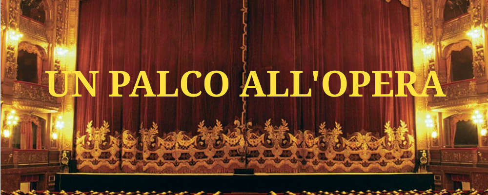 6 maggio h 13:00 -UN PALCO ALL'OPERA in collaborazione con INNER WHEEL CLUB DI ROMA EUR