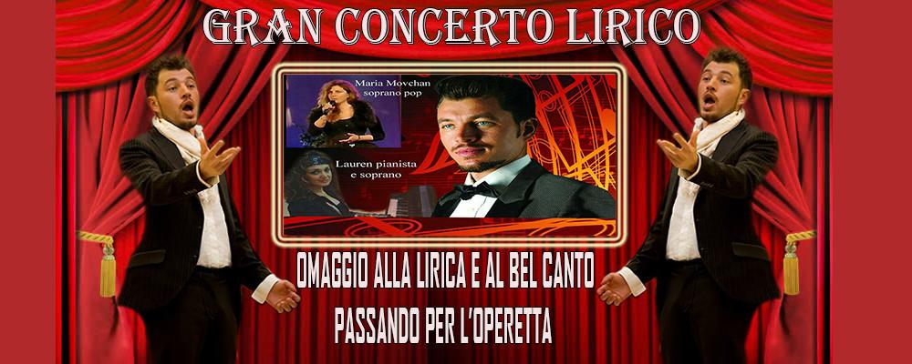 GRAN CONCERTO LIRICO