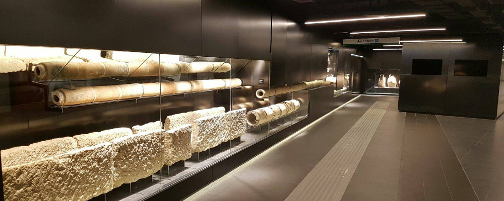 21 settembre h 11:00 - Visita guidata ai reperti archeologici della stazione metro S.Giovanni