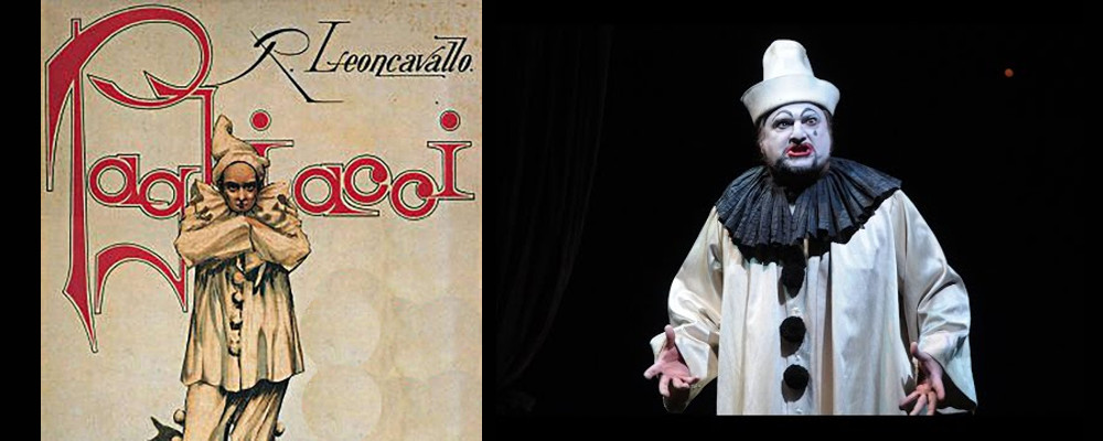 21 settembre h 19:00 - OMAGGIO ALL'OPERA LIRICA: PAGLIACCI di Ruggero Leoncavallo