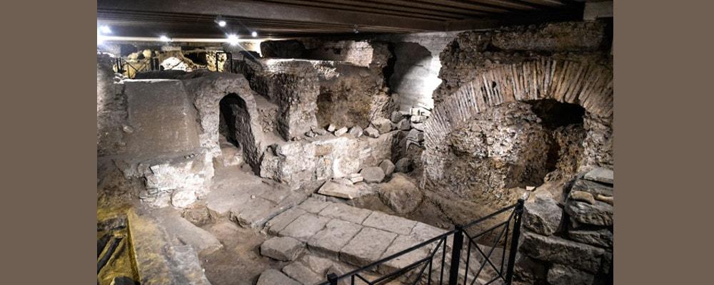 san vito e modesto roma, visite guidate, archeologia sotterranea roma, roma antica, antica roma
