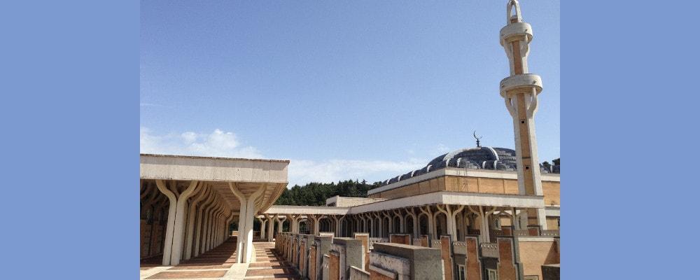 visite guidate roma, moschea roma, arte, cultura, islam
