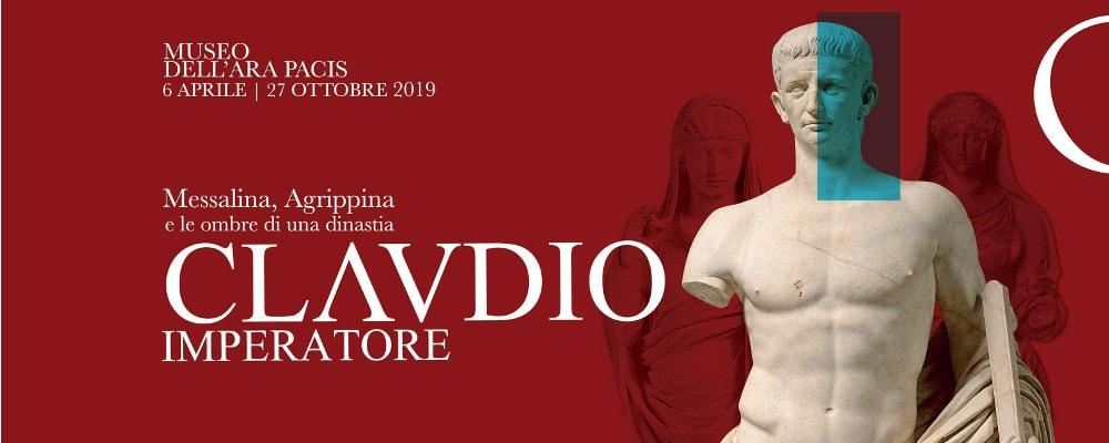 """22 Settembre h 10:30 - """"MOSTRA DI CLAUDIO IMPERATORE"""" ALL'ARA PACIS"""