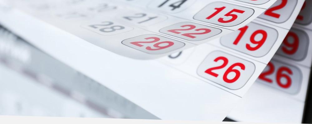 IL TRICLINIO DEL CENACOLO: La misura dei giorni (il calendario)